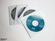 seldom included: recovery DVDs for software and operating systems