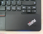 "The ThinkPad logo's ""i"" lights up in standby."