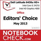 Award Dell Latitude 6430u HD+