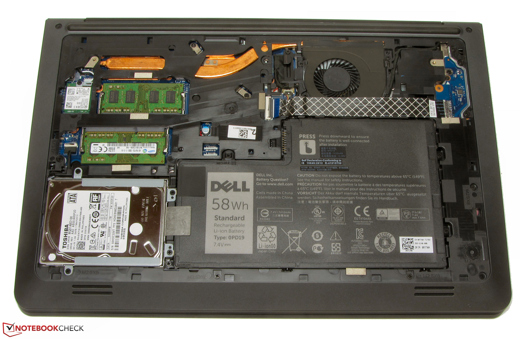 Dell Latitude 3550 0123 Notebook Review Notebookcheck