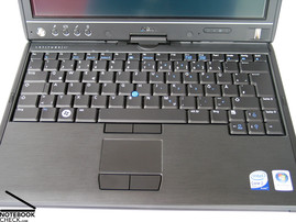Keyboard of the Dell Latitude XT
