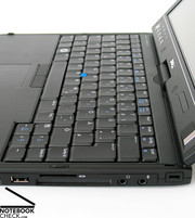 Being a convertible the Dell XT has a fully-fledged standard keyboard,...