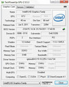 System info GPU-Z Intel GMA HD 3000