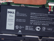 Dell treats the Venue 11 Pro to a 38 Wh lithium ion battery.