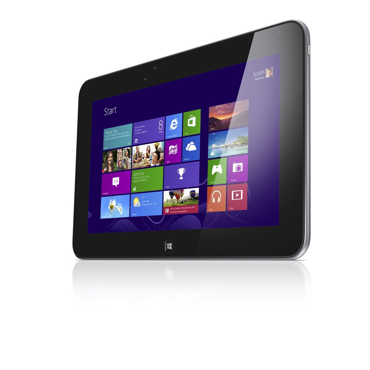 dell offers the xps 10 with 32 gb and 64 gb capacity. Black Bedroom Furniture Sets. Home Design Ideas