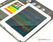 The chassis of the Archos 80 Titanium looks good.