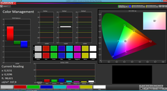Color Management (Screen mode Simple)