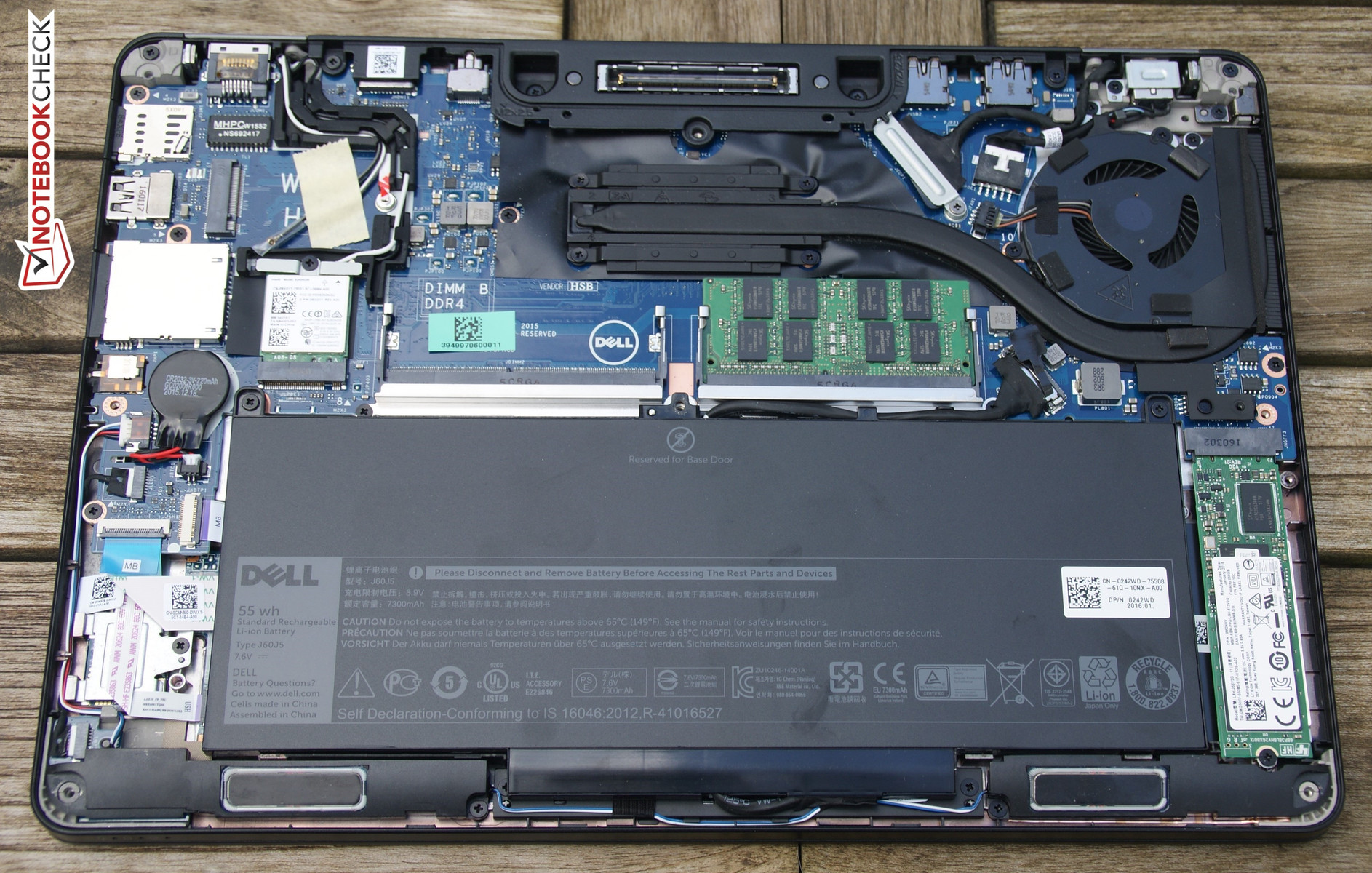 Dell Latitude 12 E7270 Notebook Review Reviews Once You Have Ascertained There Is No Power Running Install The Innards