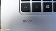 Envy, jealousy - the logo almost looks shy.