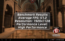 Epic Citadel Benchmark: High Performance