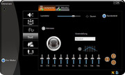 Sound output can be customized with the VIA Audio Deck software.