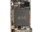 The Apple A6 on the logic board (image: iFixit)