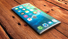 An early concept render of a possible iPhone 8. This is how the iPhone 8 with OLED display may look like next year.