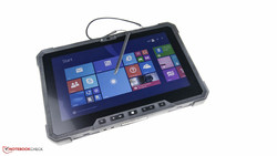 In review: Dell Latitude 12 Rugged Tab. Test model courtesy of Dell Germany