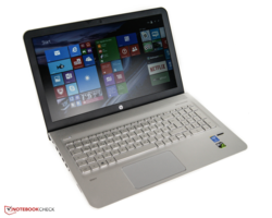 In review: HP Envy 15-ae020ng. Test model provided by HP Store.