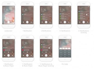 Firefox OS 2.0 various screens