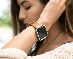 Fitbit Blaze smart fitness watch, Fitbit shipped 22.5 million devices in 2016