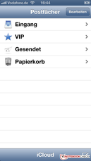 VIP inbox in Mail