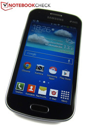 The Galaxy S Duos 2 GT-S5782's 4-inch screen has a resolution of 800x480 pixels.