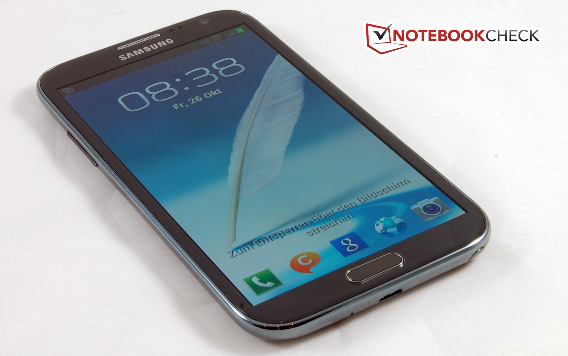 Review Samsung Galaxy Note Ii Gt N7100 Smartphone Notebookcheck Circuit Board 2 Best Durable Case Cell Phones The Big Screen Is Beneficial For
