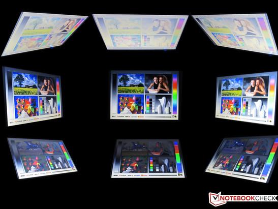 Viewing angles Fujitsu LifeBook S751 vPro/SSD/UMTS