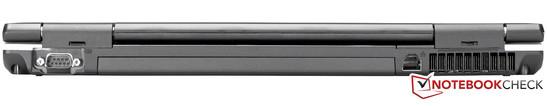 Rear: RS232 (Serial), RJ45 (Gigabit-LAN)