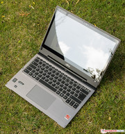 The case looks more like your conventional ultrabook...