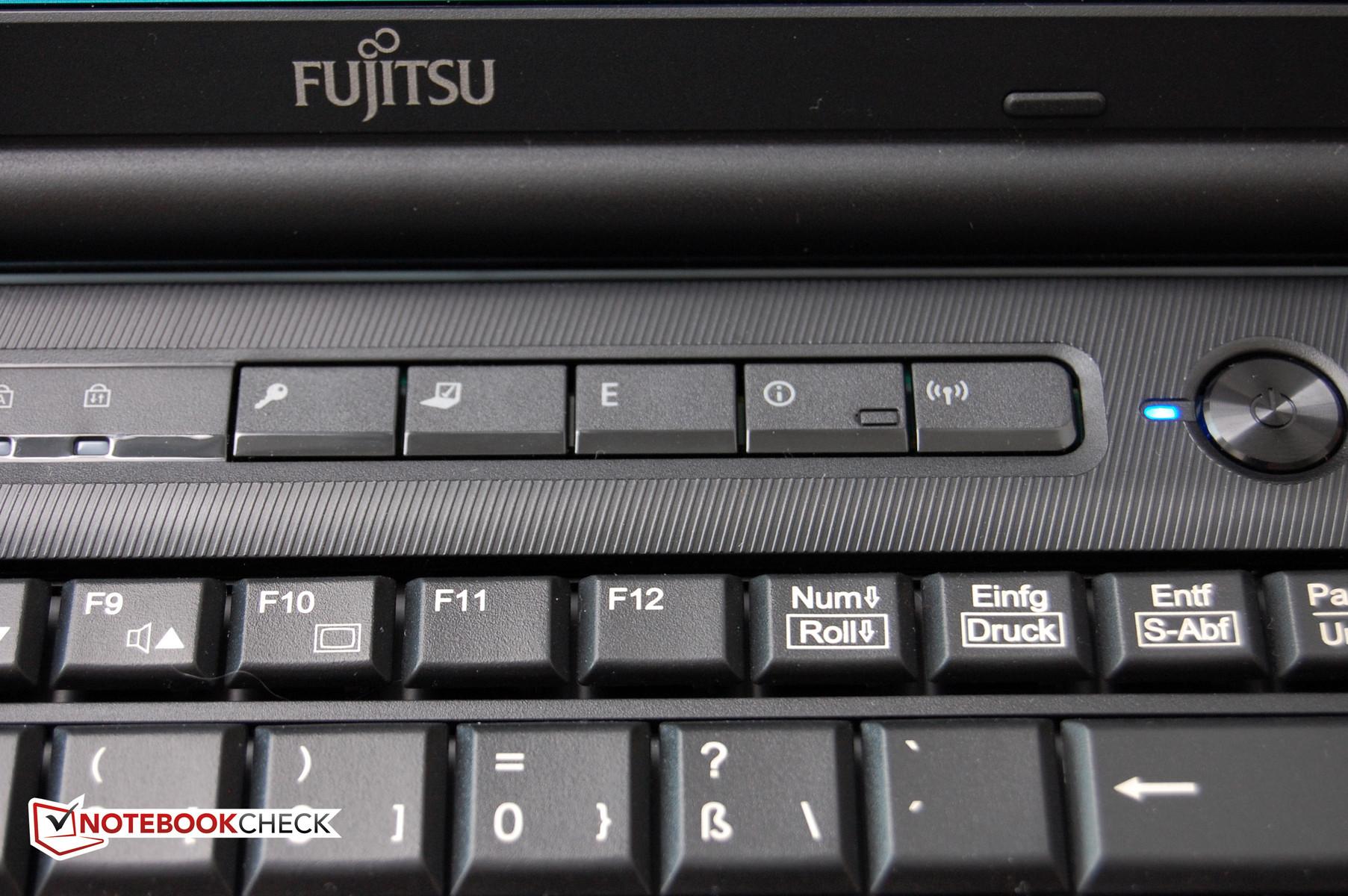 num lock fujitsu laptop