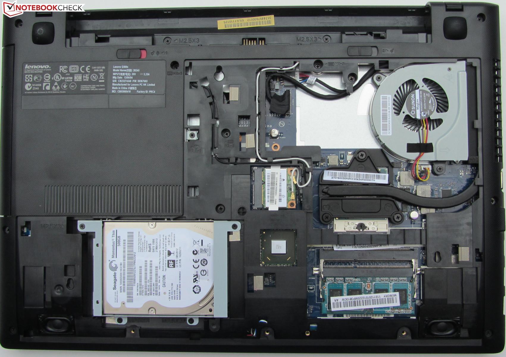 Review Lenovo G500s 59367693 Notebook Notebookcheck Net