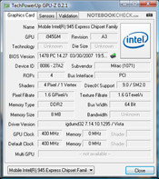 Zepto Notus A12: GPU-Z