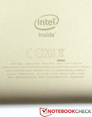 Quad-core SoC: The Fonepad 8 uses the Intel Atom Z3560.