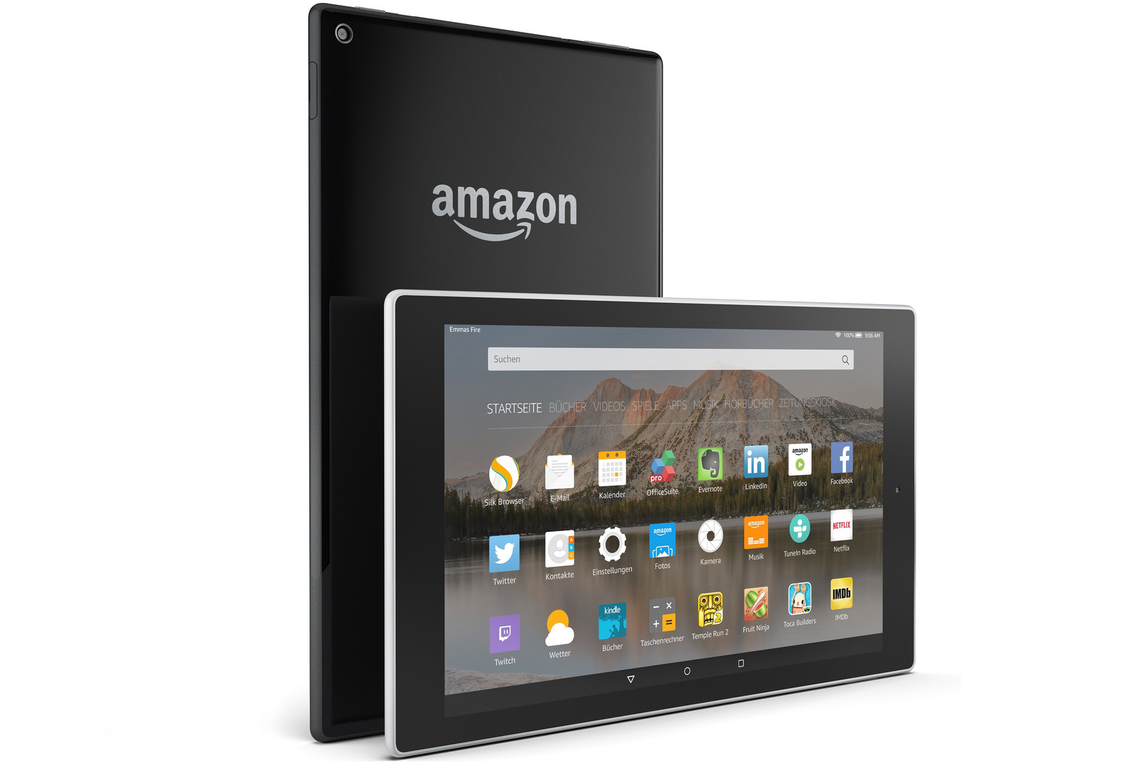 Amazon Fire HD 10 (2015) Tablet Review - NotebookCheck net