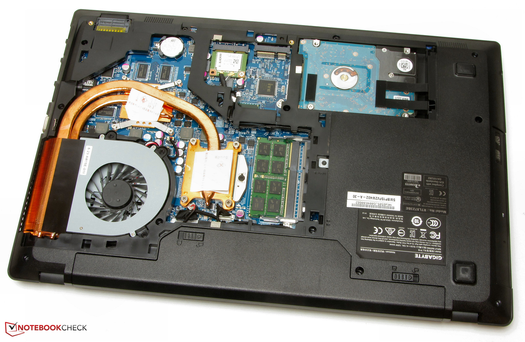 gigabyte p15f v2 notebook review