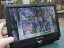 Capacitive multi-touch, can be rotated to a tablet PC