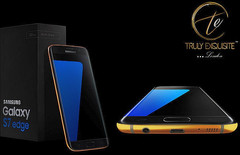 24K Gold custom Galaxy S7 and Galaxy S7 Edge by Truly Exquisite