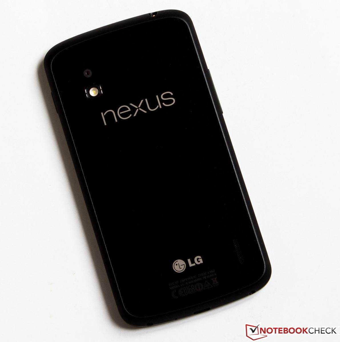Review Google Nexus 4 Smartphone - NotebookCheck net Reviews
