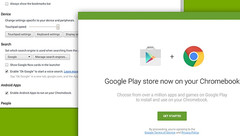 Android apps and Google Play Store now available on Chromebooks