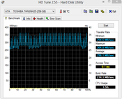 HD Tune 296 MB/s Seq. Read