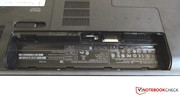 The battery slot