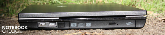 Right: 2 x USB 2.0, DVD multi-burner