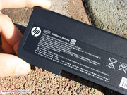 The battery has a capacity of 48 Wh (6-cells).