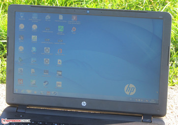 HP 350 G2 outdoors