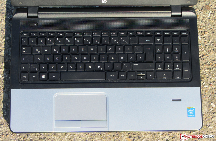 HP 350 G2: Input Devices