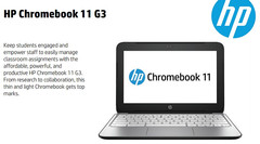 HP Chromebook 11 G3, now with Bay Trail processor