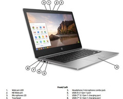 HP CHromebook 13 G1 fanless notebook with Skylake processor and 16 GB RAM