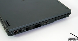 HP Compaq nc8430 Interfaces