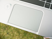 The touchpad is not clickable, but pressure sensitive.