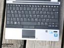 The keyboard gives good feedback