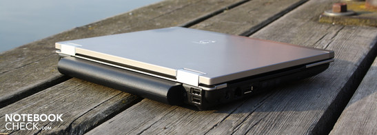 HP EliteBook 2540p: Not cheap at €1550, but it is the ultimate mobility machine for professional users
