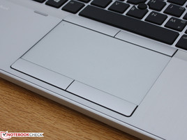 Touchpad + pointer, flexible keys for faster typing